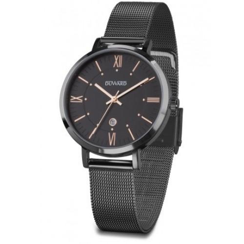 Reloj D25422.52 Duward milanesa negra.